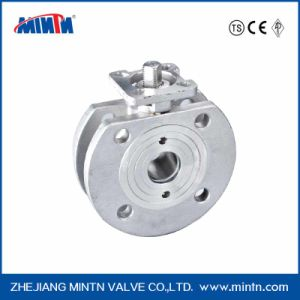 Stainless Steel Butterfly Type Ball Valve pictures & photos