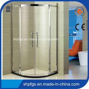 Tempered Glass Simple Shower Bathroom