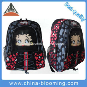 Girls Polyester Back to School Pack Student Backpack Bag pictures & photos