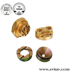 CNC Machining Brass Plug Pin for Switches pictures & photos