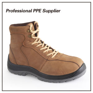 Nubulk Leather High Quality Work Safety Boot pictures & photos