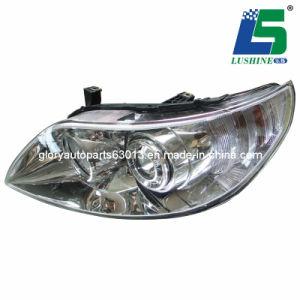 Car Head Lamp Wiith PC Lens for BYD F6 (GL-B001 / B002)