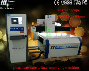 Hsgp-L High Frequency Large Size Glass Laser Subsurface Engraving Machine pictures & photos