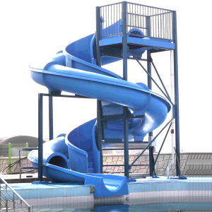 Fiberglass Water Slide for Hotel (ZC/WS/LQ3) pictures & photos
