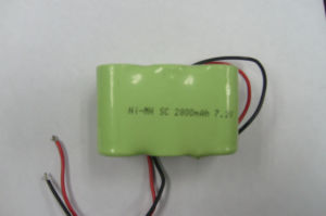 Sc 7.2V NiMH Battery Pack for Electric Car pictures & photos