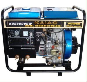 Diesel Generator Welding Machine (KDE6700EW) pictures & photos