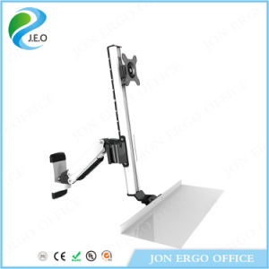 Height Adjustable Monitor Arm/Standing Desk (JN-WS15) pictures & photos