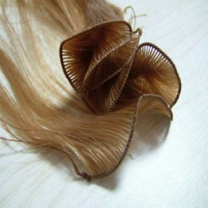 Highest Quality Human Remy Hand Tied Hair Weft pictures & photos