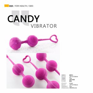 Candy Vibrator Big Enjoyment for Vigina pictures & photos