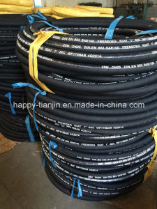 DIN En853 R2 2sn High Pressure Hose/Hydraulic Hose/Rubber Hose pictures & photos