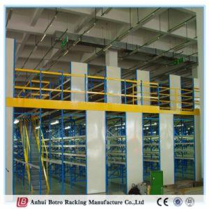 Warehouse Storage Steel Mezzanine Rack with Wire Mesh Decking pictures & photos