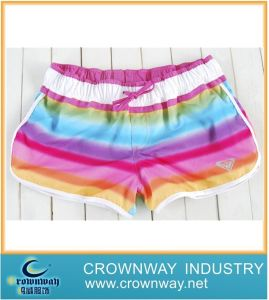 Women′s Colorful Fashion Rainbow Board Shorts pictures & photos