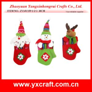 Christmas Decoration (ZY14Y159-1-2-3) Christmas Glove Xmas Home Decoration pictures & photos