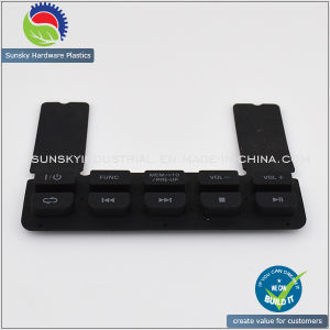 CNC Silicone Rubber Rapid Prototype for Key Pad Press (PR10071) pictures & photos