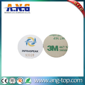 Waterproof PVC Small RFID Coin Token with 3m Adhesive pictures & photos