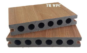 Supply Cheap and Qualified Shielded WPC Decking pictures & photos