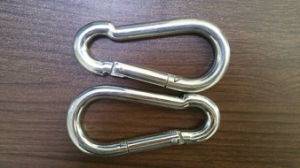 Factory Supplier Stainless Steel Carabiner Spring Snap Hook pictures & photos