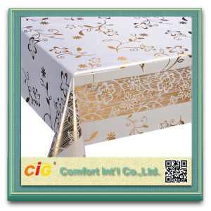 High Quality Wholesale Roll PVC Tablecloths pictures & photos
