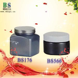 Cosmetic Pet Plastic Jar with Cap pictures & photos