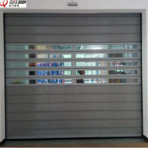 Thermal Insulation Hard Metal Rapid Roll-up Garage Doors pictures & photos