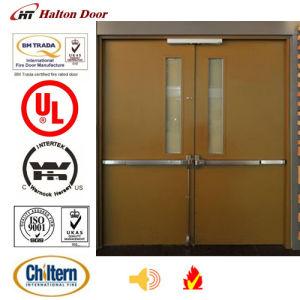 High Quality Steel Fire Door/Steel Fireproofing Door/UL Certified with Vision Glass/Safety Door