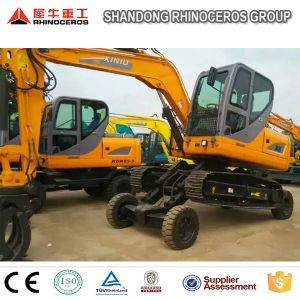 Mini Crawler Excavator 8 Ton Hydraulic Excavator 0.3m3 Cbm Bucket pictures & photos