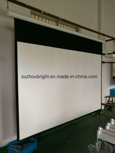 150 Inch Projection Screen Motorized Projector Screen with RF or IR Remote pictures & photos