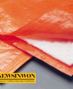 Insulated Blanket Concrete Curing Blanket PE Tarpaulin