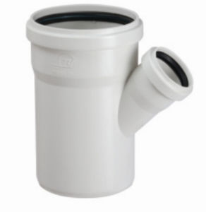 PVC-U Pipe &Fittings for Water Drainage Reducing Skew with Socket (C76) pictures & photos