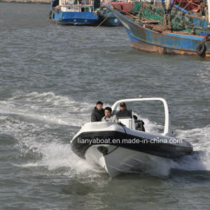 Liya 25ft 7.5m Hypalon Rigid Inflatable Boat Rib Boat China for Sale pictures & photos