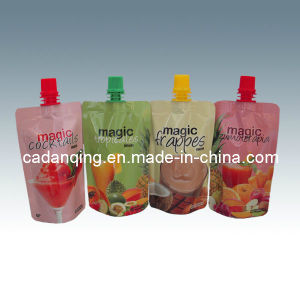 Multi-Color Promotional Stand up Pouch with Spout (DQ0218) pictures & photos