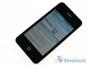 4s W009 3.5inch Android2.2 Capacitive WiFi GPS Dual SIM Card Mobile Phone