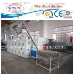PVC Wood Plastic Hollow Door Board Conical Twin Screw Extruder pictures & photos