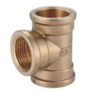 Brass Fittings Female Tee Copper Tb-03 pictures & photos