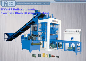 Qt6-15 Concrete Block Making Machine/ Brick Making Machine/ Block Machine
