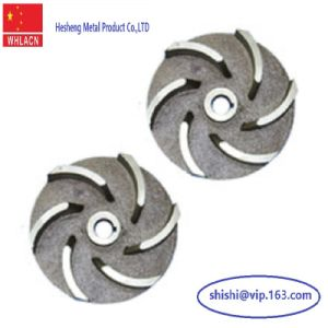 Stainless Steel Lost Wax Casting Water Pump Impeller pictures & photos