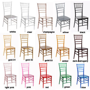 Clear Wedding Phoenix Napoleon Sillas Chiavari Chairs pictures & photos