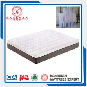 Gel Memory Foam Queen Size Mattress in a Color Box pictures & photos