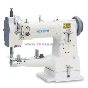 Single Needle Cylinder Bed Unison Feed Sewing Machine for Hemming Shoes pictures & photos