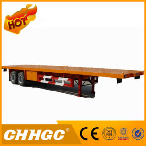 2 Axle Container Deckover Semi Trailer
