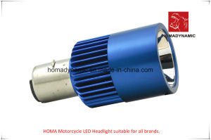 Motorcycle Light of LED Headlight A08-02 Two Side LEDs pictures & photos