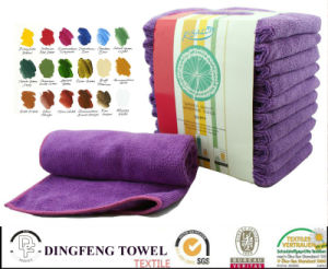 Quality Hair Drying 100% Cotton or Microfiber Bleach Proof Beauty Salon Towel pictures & photos