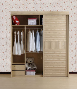Walk in Closet with Sliding Door Agw-021