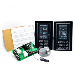 LCD Sauna Room Thermostat with Lamp Output