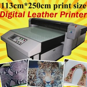 Wonderful Synthetic Leather Digital Printing Machine (113*250cm Print Size) pictures & photos