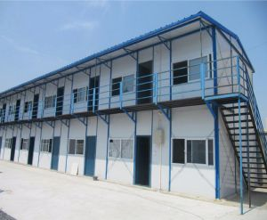 Fast Assemble Prefabricated Building for Construction Sites pictures & photos