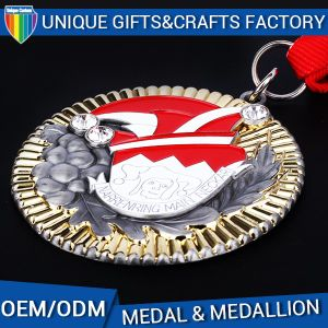 Manufacture Wholesale Cheap Custom Metal Medal with High Quality pictures & photos