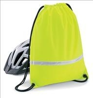 High Visibility Rucksack/Gymsac Bag - Yellow pictures & photos