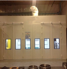 Btd Industrial Painting Booth Painting Chamber pictures & photos