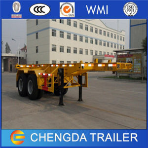 2 Axle 35ton 20ft Container Skeleton Trailers for Sale pictures & photos